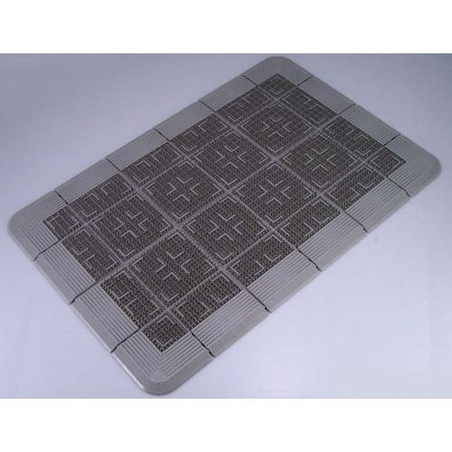 コンドル クロスハードマット 900×1500mm グレー KMT21159D【送料無料】