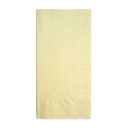HARADA カラーナプキン 8ッ折(2,000枚入) 45cm 2P クリーム PNP0502