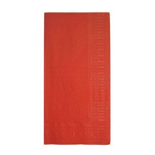 HARADA カラーナプキン 8ッ折(2,000枚入) 45cm 2P レッド PNP0504