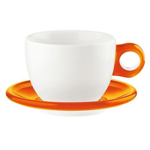 グッチーニ ラージコーヒーカップ 2客セット 2775.0045 オレンジ RGTS403【送料無料】