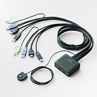 [ELECOM(エレコム)] パソコン切替器/HDMI対応 KVM-HDHDU2(代引き不可)【送料無料】