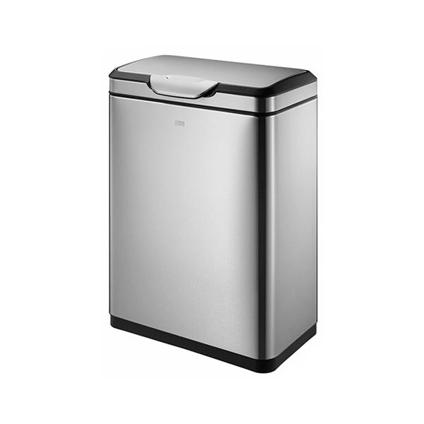 EKO タッチビン 横型 45L ステンレス ゴミ箱 ごみ箱 1年保証 ダストボックス キッチン 台所 EK9178MP-45L EK9178MT-45L【送料無料】