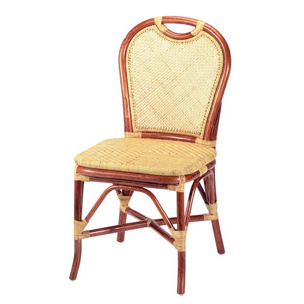 今枝ラタン ダイニングチェアー ラタン ダイニングチェア 籐 椅子 アジアン B-106A【送料無料】