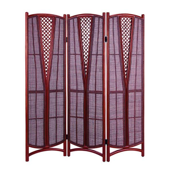 今枝ラタン 籐 スクリーン アジアン家具 高級ラタン エスニック バリ 高品質 温浴備品 おしゃれ 高耐久 長持ち S-001-3SD【送料無料】