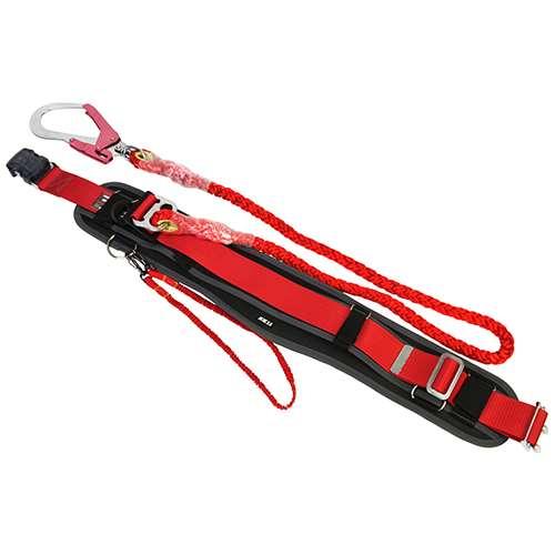 ツヨロン 安全帯赤ロープ SPandCD付 SAFOT93KLC-RFB(代引不可)【送料無料】