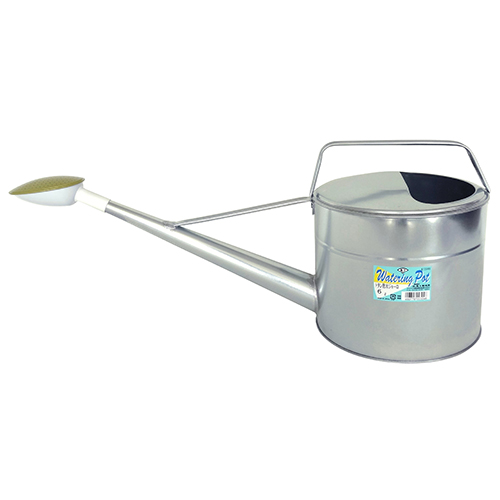 園芸機器 通販 激安◆ 散水 ホースリールのジョーロ 水差6L 散水ジョーロ 園芸機器:散水 水差 トタン散水ジョーロ 《週末限定タイムセール》 6L ホースリール:ジョーロ