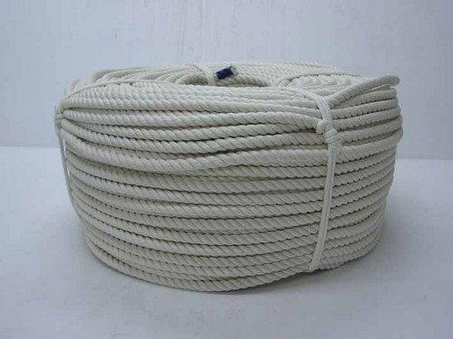 《単品》巻き物ロープ 綿ロープ 9mm×200m C9-200 【送料無料】【S1】