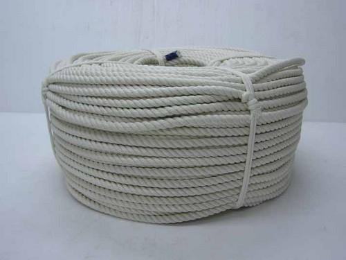 《単品》巻き物ロープ 綿ロープ 10mm×200m C10-200 【送料無料】