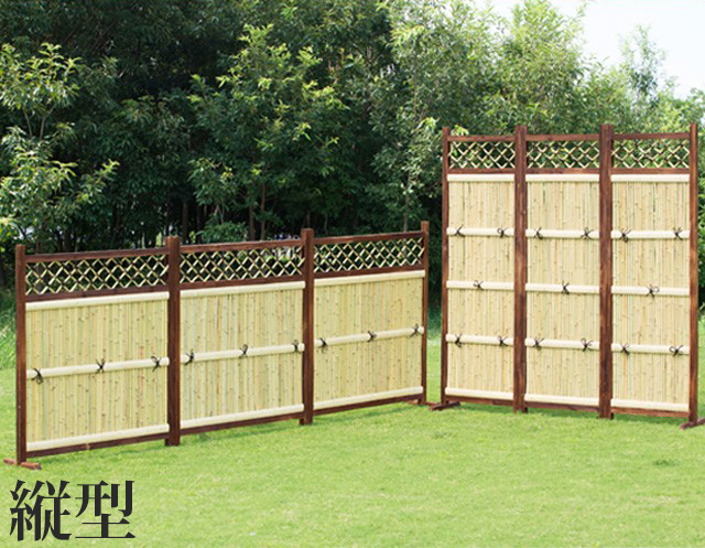 The Class three pieces of bamboo fence length types fence bamboo fence  fence bamboo fence nature bamboo Japanese style blindfold partitioning  entrance