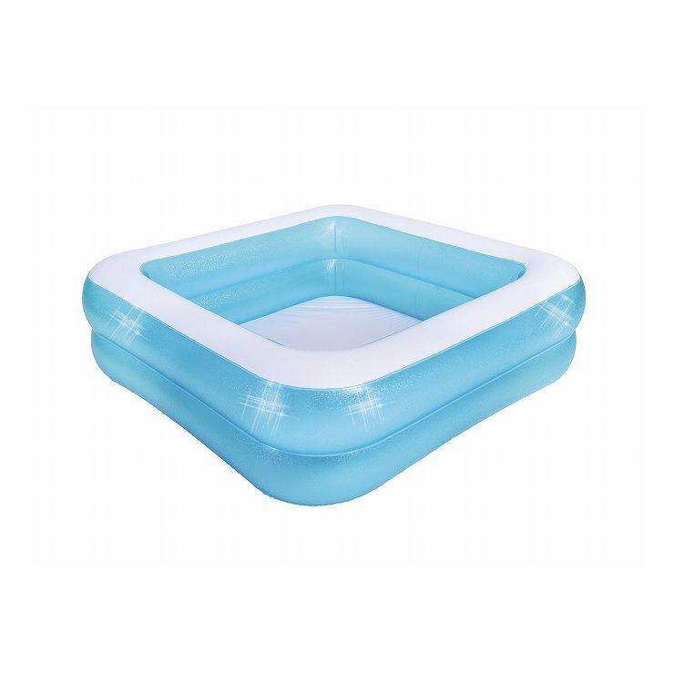 高い素材 送料無料 JILONG ジーロン スクエア2リングプール ビニールプール 家庭用 水遊び 公式 浮き輪 プール