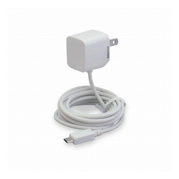 多摩電子工業 マイクロUSBコンセントチャージャー 1A ホワイト TA51SW