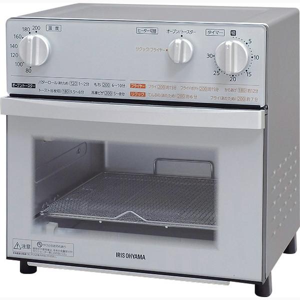 アイリスオーヤマ ノンフライ熱風オーブン FVX-D3B-S(代引不可)【送料無料】