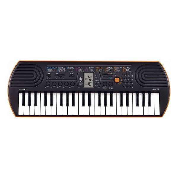 カシオ 44鍵盤ミニキーボード SA-76(代引不可)【送料無料】