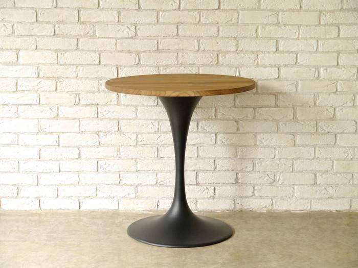 【MOSH/モッシュ】 カフェテーブル ブラック テーブル おしゃれ 丸形 リビングテーブル 新生活 ミッドセンチュリー(代引不可)【送料無料】