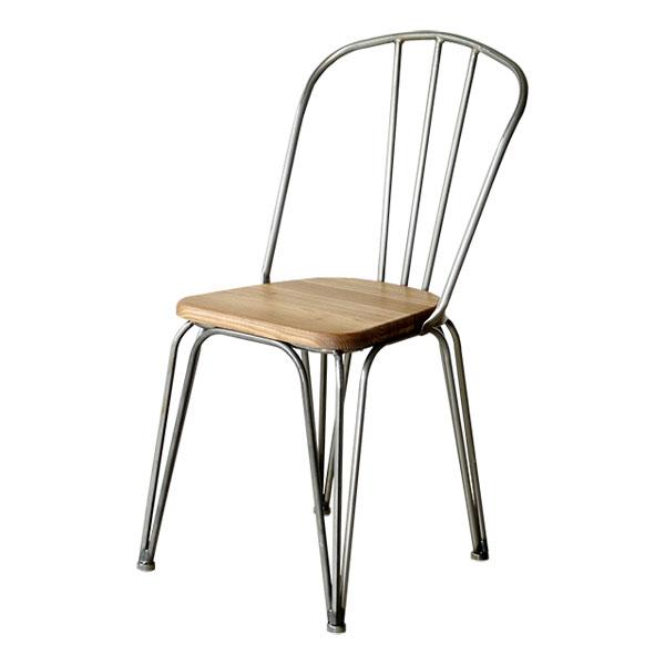 【1290】 テーブルチェア スタッキング アイアン ダイニング リチェア イス 椅子 食卓椅子 チェア 食卓チェア スチールチェア(代引不可)【送料無料】