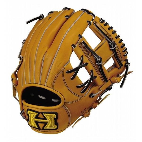 ハイゴールド Hi-Gold OKG-6026 己極 二塁手 遊撃手 軟式 グラブ ナチュラル 野球 グローブ ベースボール 右投げ 野球用品【送料無料】