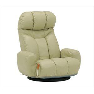 座椅子 LZ-4271LGY (代引き不可)【送料無料】