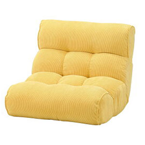 ソファ座椅子 ピグレット2ndコーディロイ 座椅子 ソファ リクライニングチェア フロアチェア 超多段階 1P 一人掛け(代引不可)【送料無料】