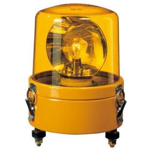 パトライト 大型回転灯黄 SKL-102CA-Y