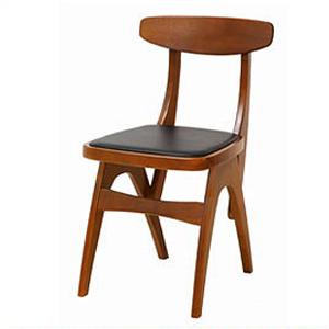 チェア 椅子 イス 木製 天然木 hommage オマージュ Chair HMC-2464 (代引き不可)【送料無料】