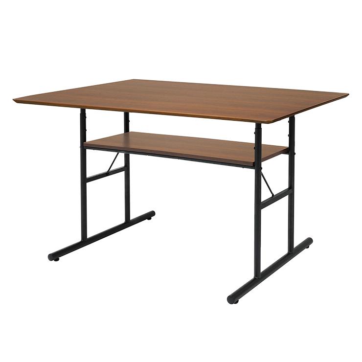 テーブル LD テーブル 幅120サイズ リビングテーブル 市場株式会社 ANT-3049BR(代引不可)【送料無料】