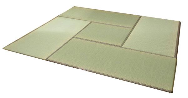 純国産 ユニット畳 『安座』 88×176×2.2cm(2枚1セット)【送料無料】【代引き不可】【S1】