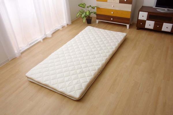 敷き布団 シングル 寝具 洗える 無地 高反発『V-lapノーマル 約95×200cm(代引不可)【送料無料】