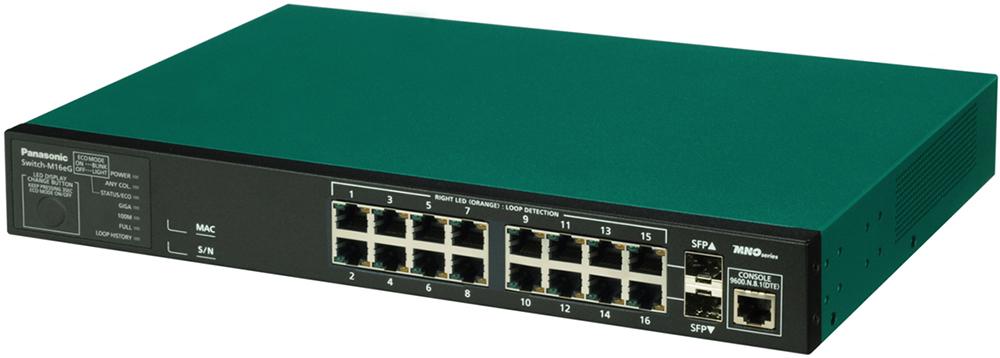 パナソニックESネットワークス Switch-M16eG 5年先出しセンドバック保守バンドル品 PN28160KB5(き)