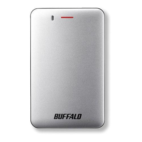 バッファロー USB3.1(Gen1)小型ポータブルSSD 480GB シルバー SSD-PM480U3A-S(代引き不可)