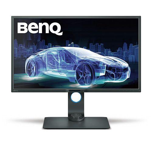 ベンキュージャパン BenQ 32インチ LEDフリッカーフリー ワイド液晶ディスプレイ(3840x2160/D-Port/MiniD-Port/HDMI/グレイ) PD3200U(き)