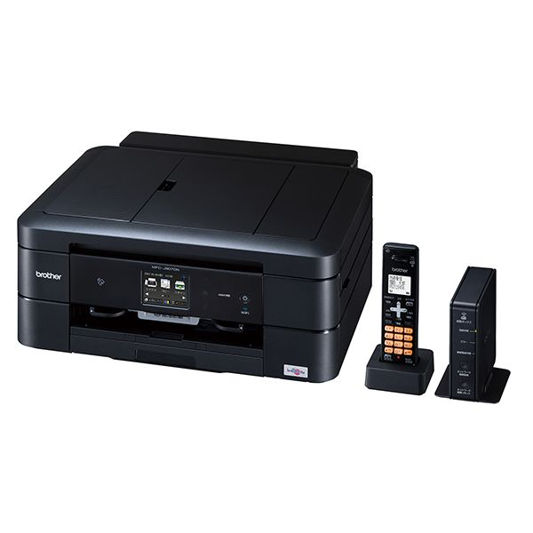ブラザー工業 PRIVIO A4インクジェット複合機(プリンター/無線ファクス/スキャナー/コピー/ダイレクトプリント/CD・DVD・BD印刷/無線LAN/USB/子機1台)MFC-J907DN(き)