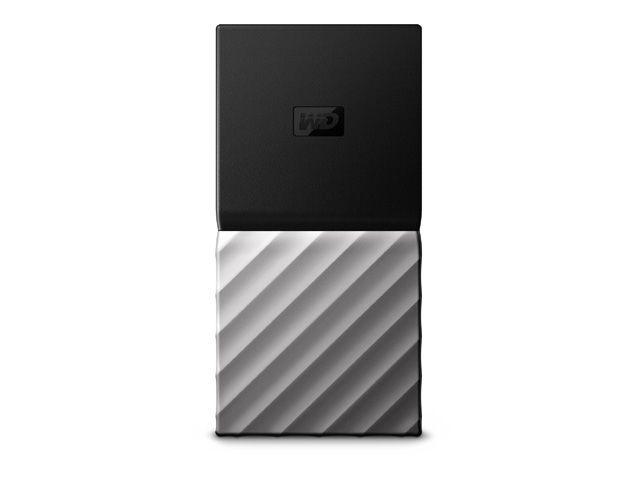 ウエスタンデジタル SSDポータブルストレージ「My Passport SSD(2017年発売モデル)」 1TB WDBK3E0010PSL-WESN(代引き不可)