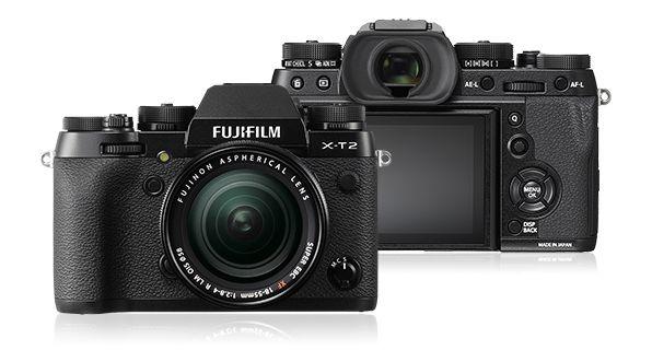 富士フイルム <X>FUJIFILM ミラーレス一眼カメラ X-T2・レンズキット(2430万画素) F X-T2LK-B(代引き不可)