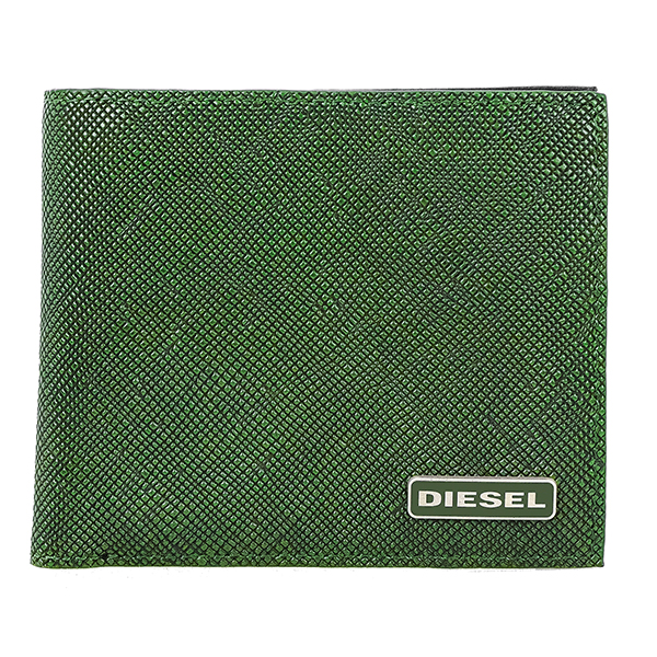 ディーゼル DIESEL メンズ 二つ折り 短財布 X03344-P0517-H5429 グリーン【送料無料】