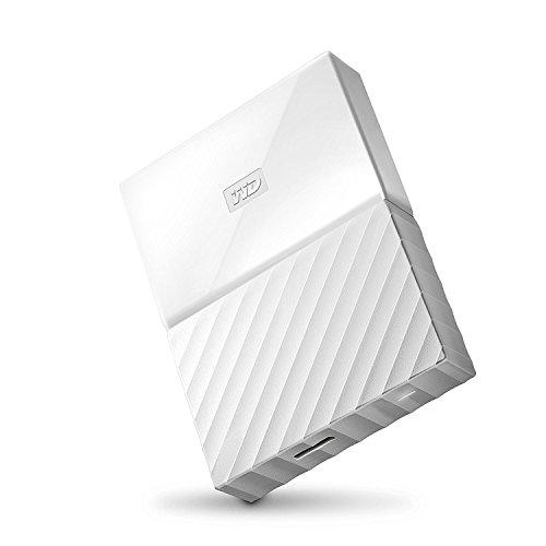 WD ポータブルストレージMy Passport(2016) 3TB White WDBYFT0030BWT-WESN