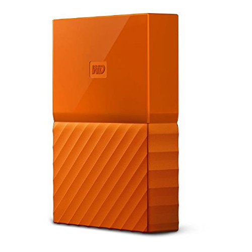 ウエスタンデジタル ポータブルストレージ 4TB オレンジ WDBYFT0040BOR-JESN