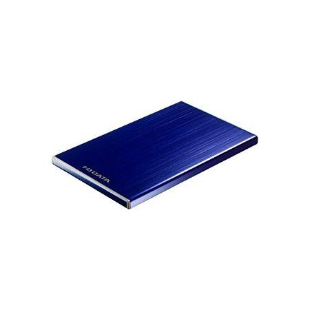 アイ・オー・データ 外付けポータルブルHDD「カクうす7」青 500GB HDPU-UT500B