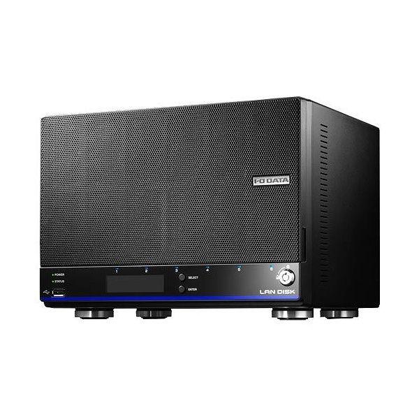 アイ・オー・データ 「拡張ボリューム」採用/増設用スロット搭載 4ドライブビジネスNAS 12TB HDL4-H12EX