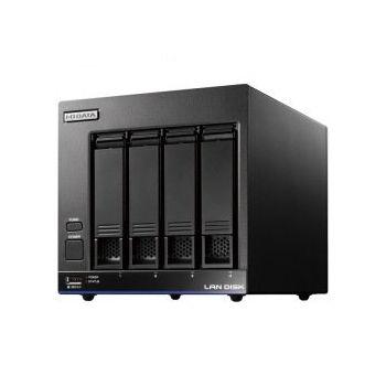 アイ・オー・データ 高性能CPU&NAS用HDD「WD Red」搭載 4ドライブスタンダードビジネスNAS 12TB HDL4-X12