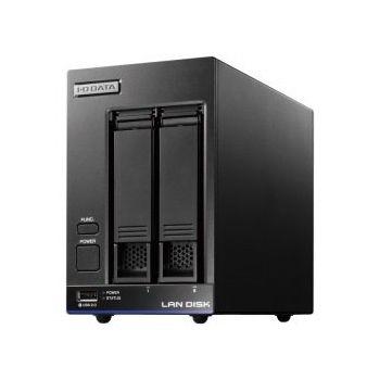 アイ・オー・データ 高性能CPU&NAS用HDD「WD Red」搭載 2ドライブスタンダードビジネスNAS 8TB HDL2-X8