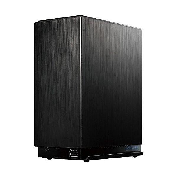アイ・オー・データ デュアルコアCPU搭載 2ドライブ高速ビジネスNAS 2TB HDL2-AA2W
