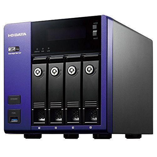 アイ・オー・データ W2016 Wg/Intel Celeron搭載4ドライブNAS16TB HDL-Z4WQ16D