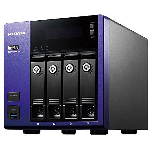アイ・オー・データ W2016 std/Intel Celeron搭載4ドライブNAS8T HDL-Z4WP8D