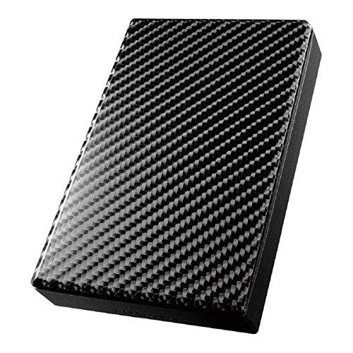 アイ・オー・データ USB 3.0対応ポータブルHDD 高速カクうす 黒 2TB HDPT-UT2DK