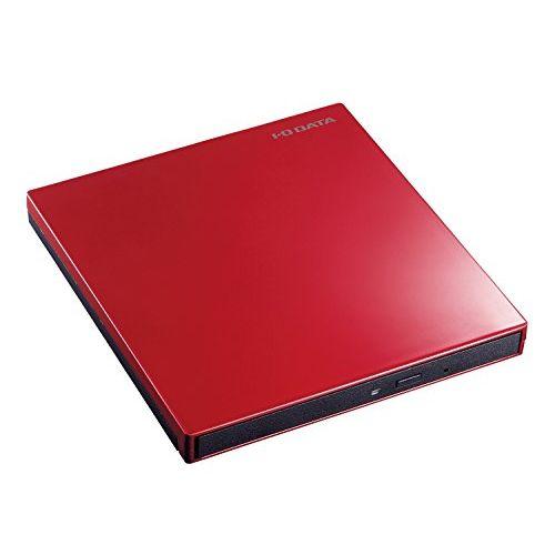 アイ・オー・データ USB Type-C対応 ポータブルブルーレイドライブ 赤 BRP-UT6CR