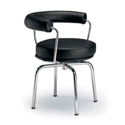 コルビジェ オフィスチェア LC7 スウィベルチェア デザイナーズ チェア ル・コルビジェ(代引不可)【送料無料】