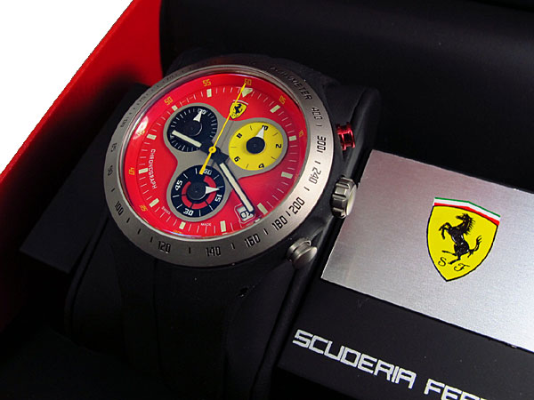 FERRARI フェラーリ 腕時計 ジャンボ スイス製 270005913【送料無料】