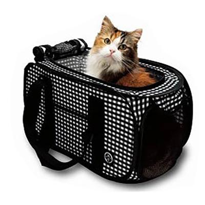 送料無料 猫壱 訳あり商品 キャリー 猫用 セール特別価格 ポータブルキャリー 軽量 ポータブルキャリー黒