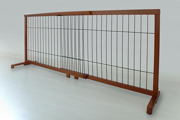 伸縮ペットゲート ハイタイプ 大 幅107~196cm ドッグゲート ペットフェンス ドッグフェンス イヌ 室内犬 立ち入り禁止 安全(代引不可)