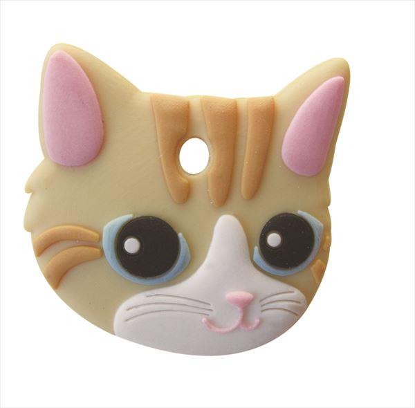 ペットキーカバー 猫 クリームタビー